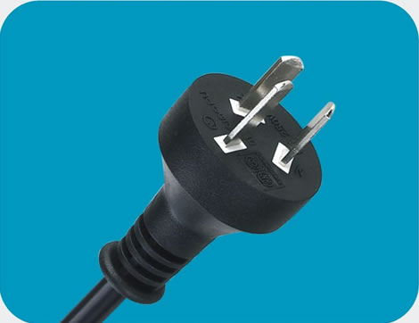 Argentina Power Cord 3 pin class=