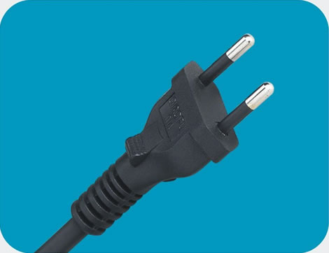 Brazil Power Cord 2 pin