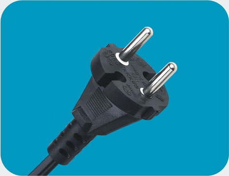 Netherlands Power Cord 2 pin class=