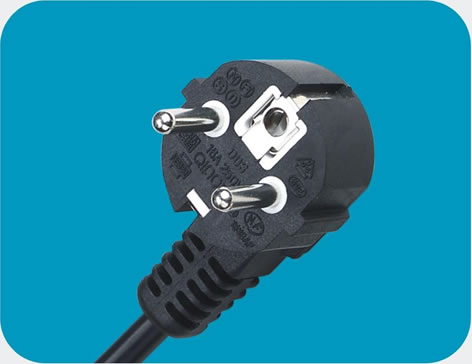Netherlands Power Cord 3 pin class=