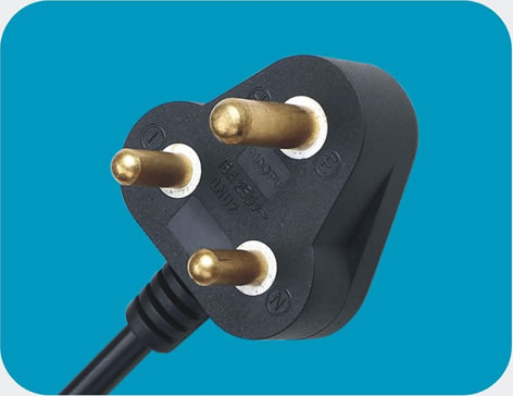 South Africa SABS Power Cord 16A class=